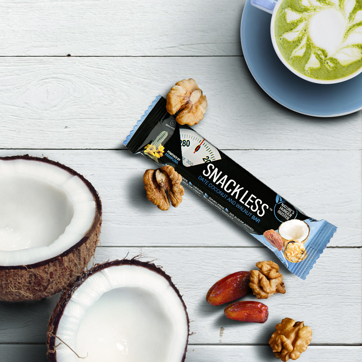 Date, Coconut and Walnut Bar (4 pack)
