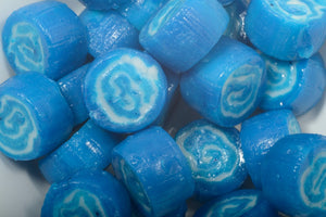 Blue White Swirl Rock - 100g Bags