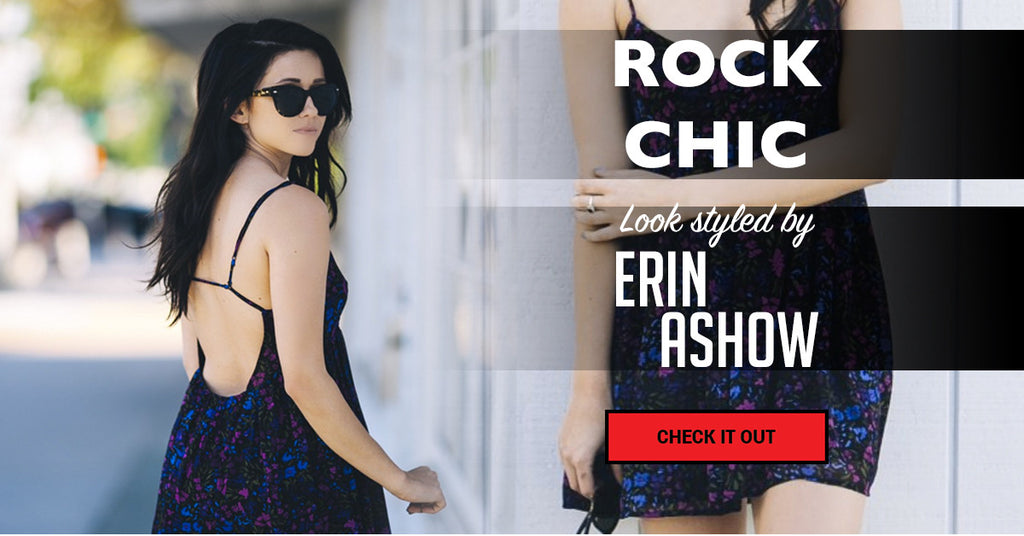 ROCK CHIC -  #HarperGirl look of the week from Erin Ashow!