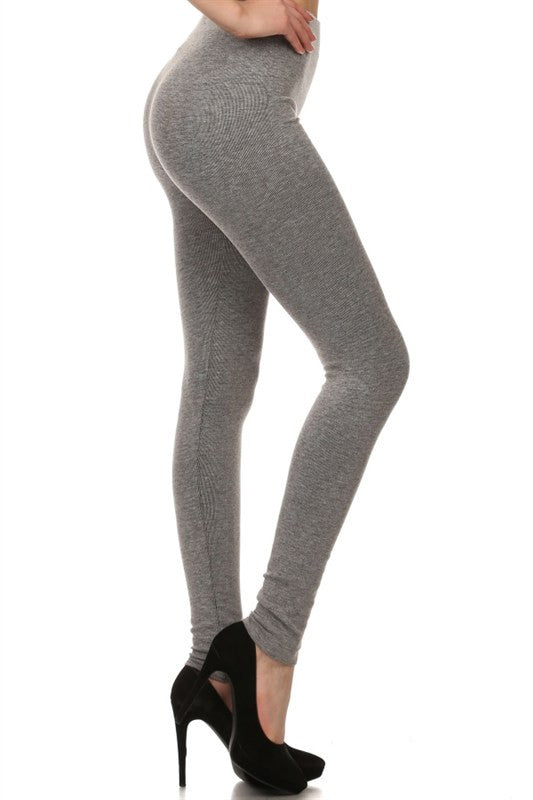 Back to Basics Leggings- Grey