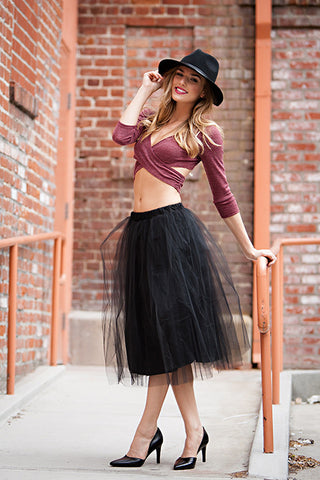 Black Swan Tulle Skirt