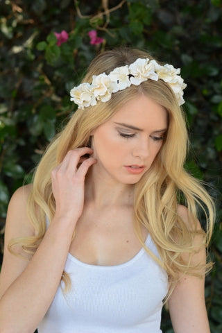 Boho Princess Flower Crown