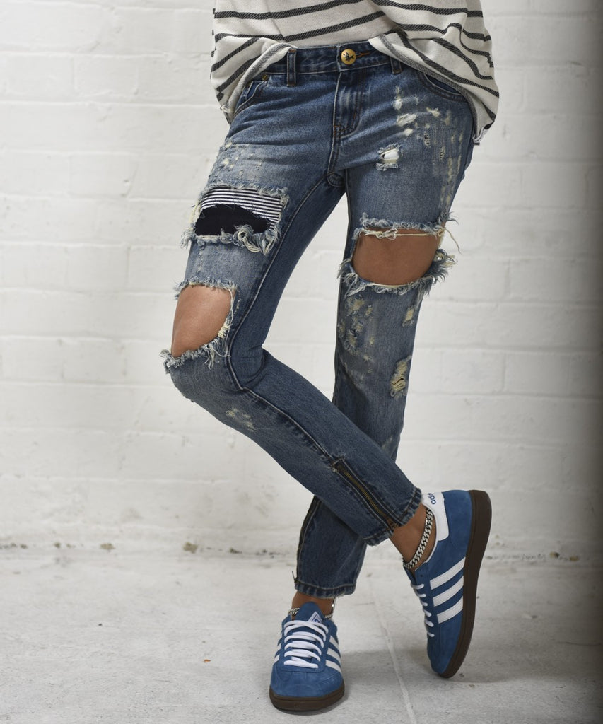 Dusty Freebird Denim