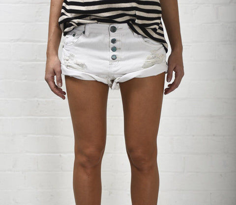 Frost Bandits Denim Shorts
