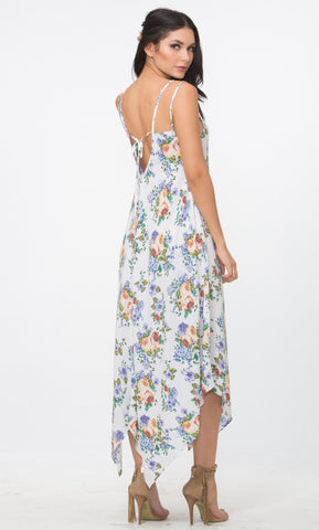 Handkercheif Maxi Dress