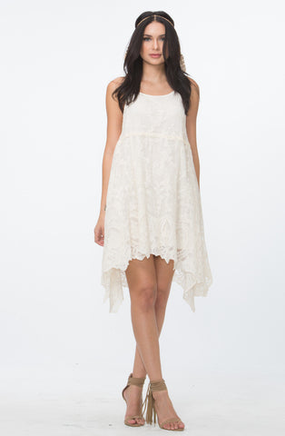 Lace T-Back Dress