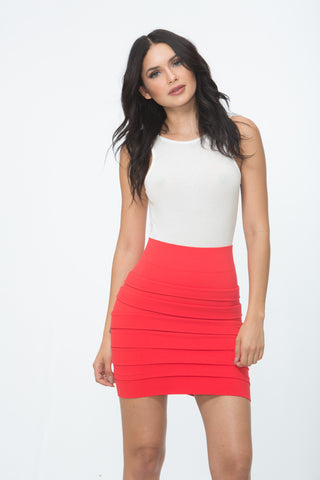 The Lipstick Mini Skirt