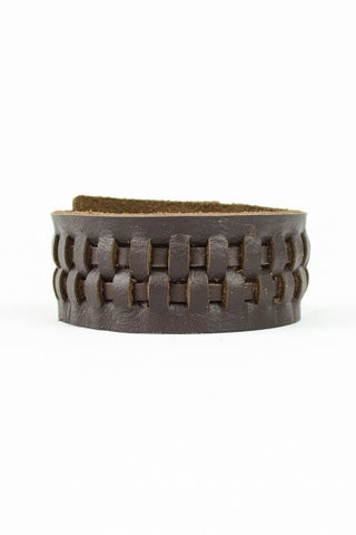 Wild West Leather Bracelet