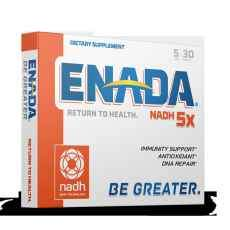 ENADA NADH 5mg Enteric Coated tablets, 30 tablets per box