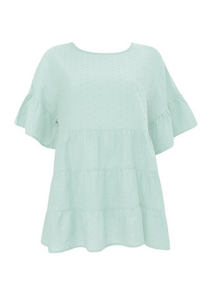 JO RELAXED FIT TOP - MINT