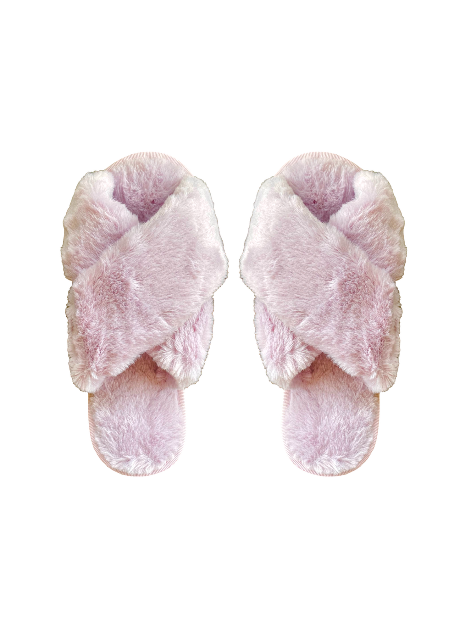 FLUFFY SLIPPERS - LILAC