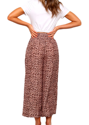 ASHER LEOPARD PANTS
