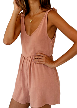 GOGO PLAYSUIT - BLUSH