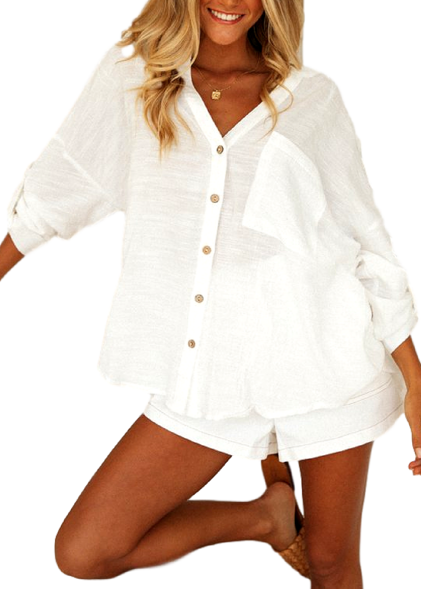 HALLIDAY SHIRT-WHITE
