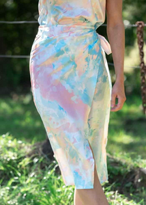 FRUED WRAP SKIRT