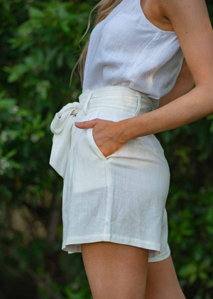 DEIDRE SHORTS - WHITE