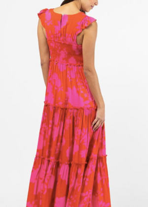 ANGELICA MAXI- RED