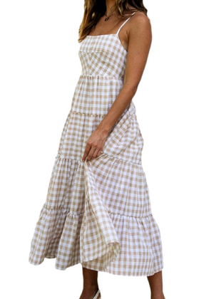 HOLMBY DRESS - GINGHAM