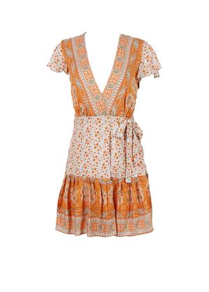 RIVKA WRAP DRESS