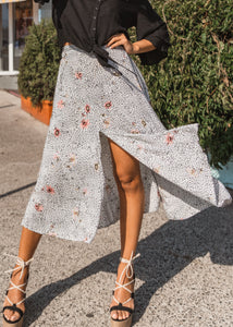 DESERT ROSE MIDI SKIRT