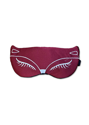 FOXY SILK FACE MASK RED