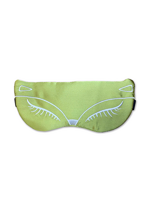 FOXY SILK FACE MASK- GREEN
