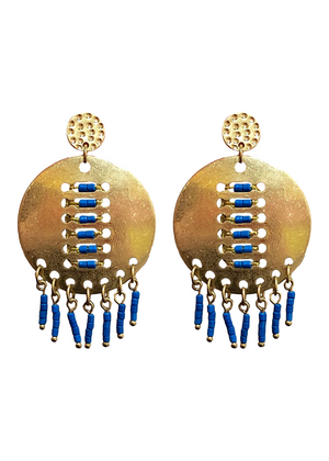LEXI EARRINGS BLUE