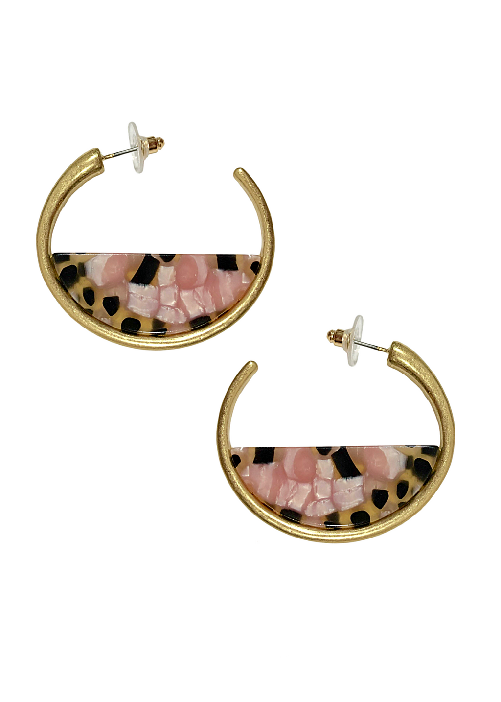 CLARISSA EARRINGS PINK