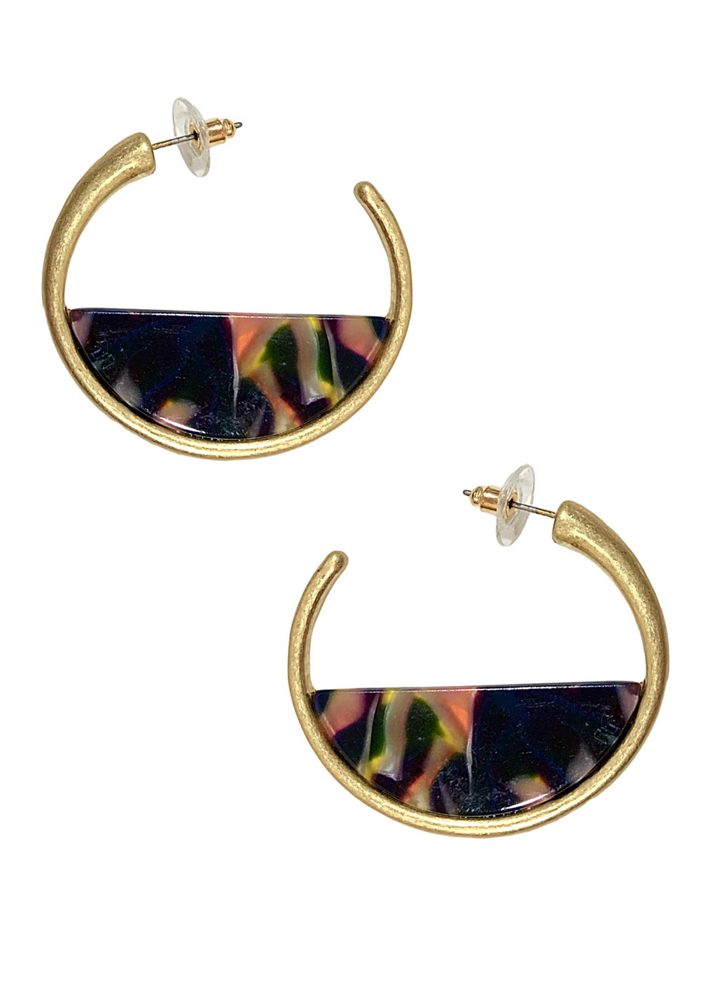 CLARISSA EARRINGS BLACK