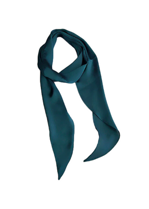 DEE SELF TIE HAIR SCARF GREEN