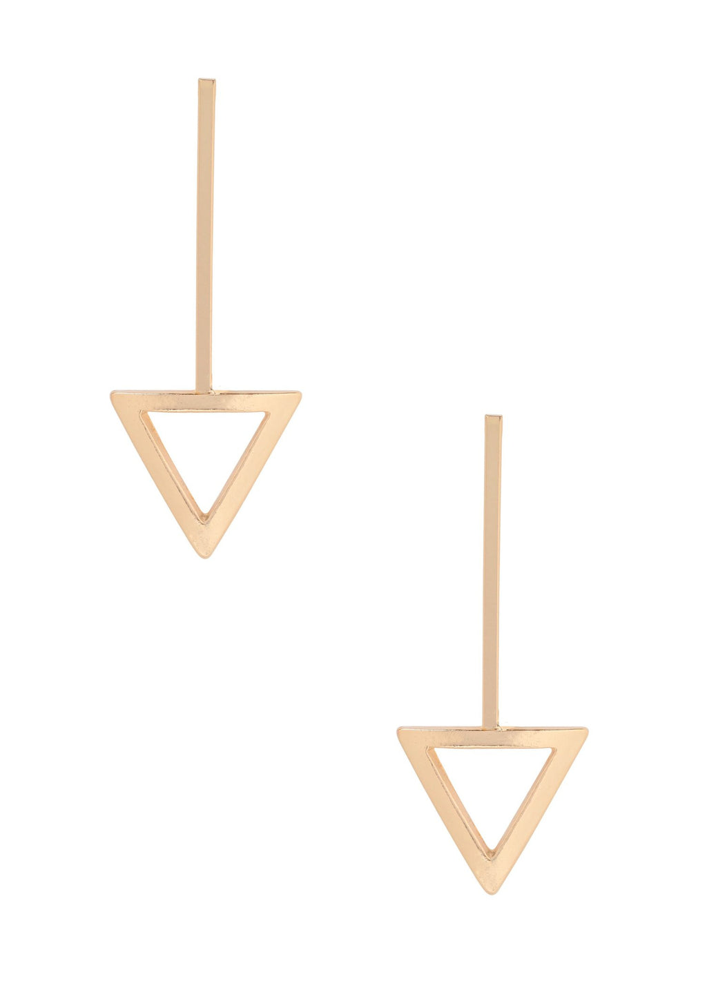 ETTIKA HAVANNA EARRINGS IN GOLD