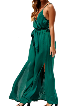ANITA JUMPSUIT - FOREST GREEN