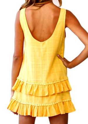 SUMMER DAYS DRESS - YELLOW