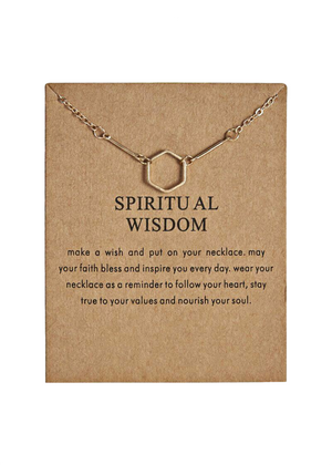 SPIRITUAL WISDOM NECKLACE