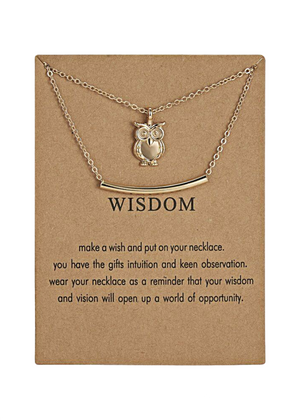 WISDOM NECKLACE