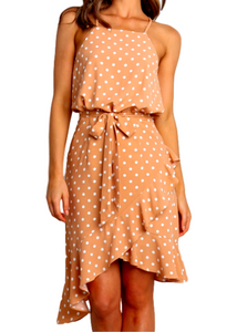 PIPPA POLKA DOT DRESS