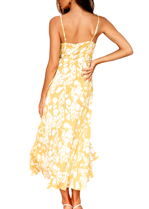 QUINLYNN DRESS- YELLOW