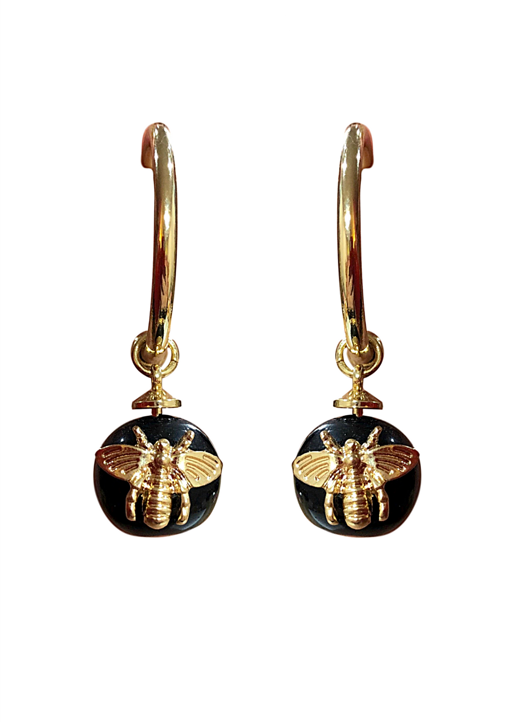 BEES EARRING BLACK