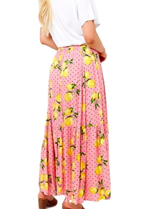PINK LEMON SKIRT