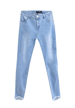 LETTIE JEANS - LIGHT BLUE WASH