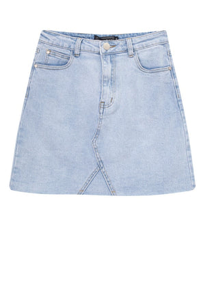 ZIA STRETCH DENIM SKIRT