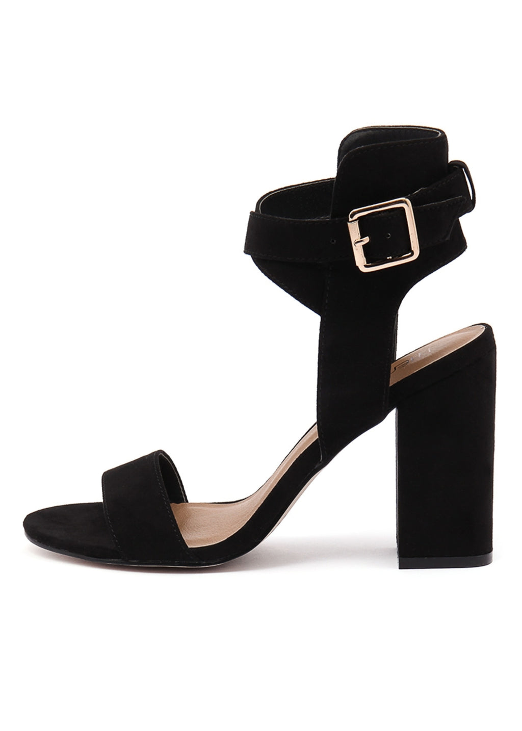 COLLINS HEEL Black Suede - By Therapy Shoes