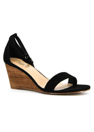 HAZEL WEDGES - BLACK by Therapy Shoes