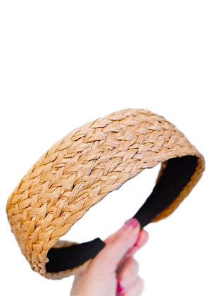 TILLY RATTAN HEADBAND
