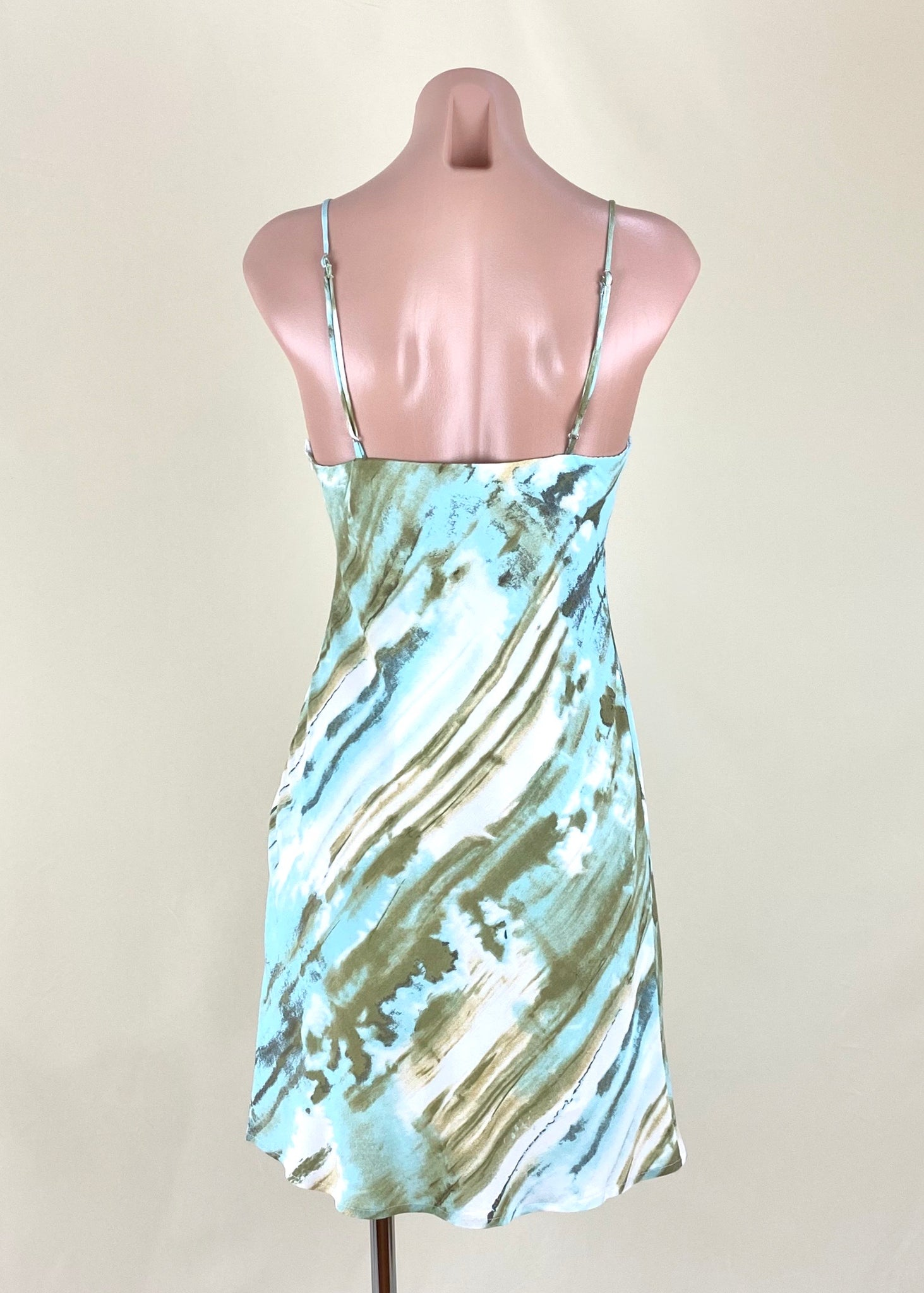 NYA TIE DYE MINI DRESS