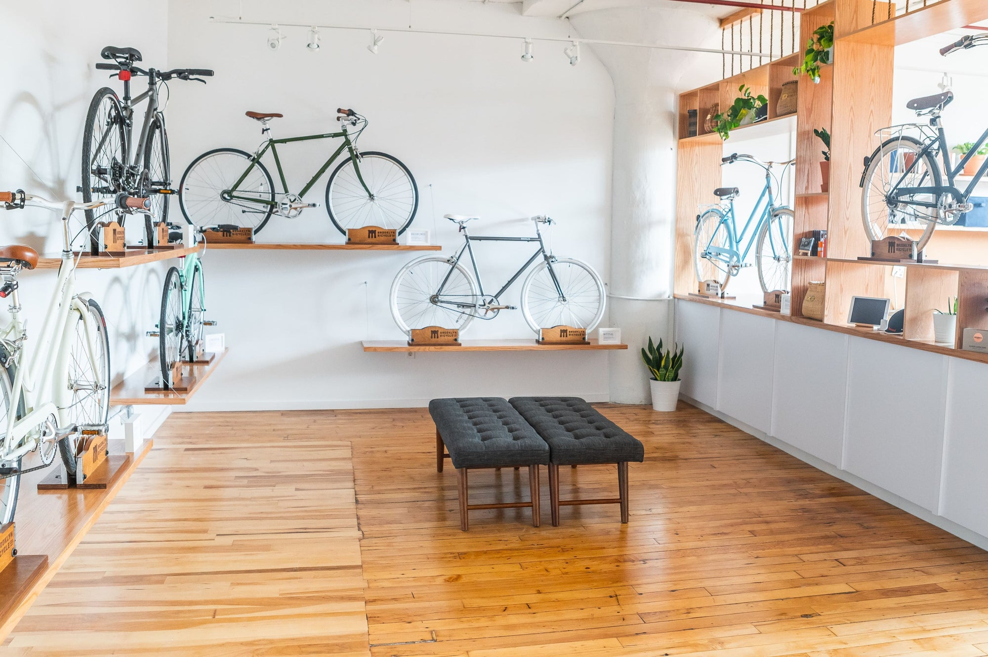 Brooklyn Bicycle Co.'s Showroom: Benefiting IBD's