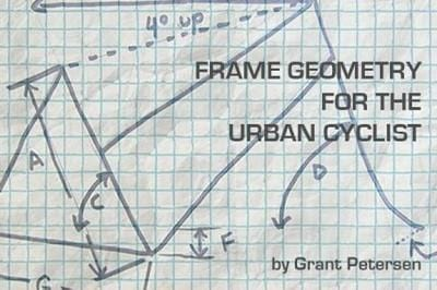Five Things that Matter on Bike Frame Geometry with Grant Petersen