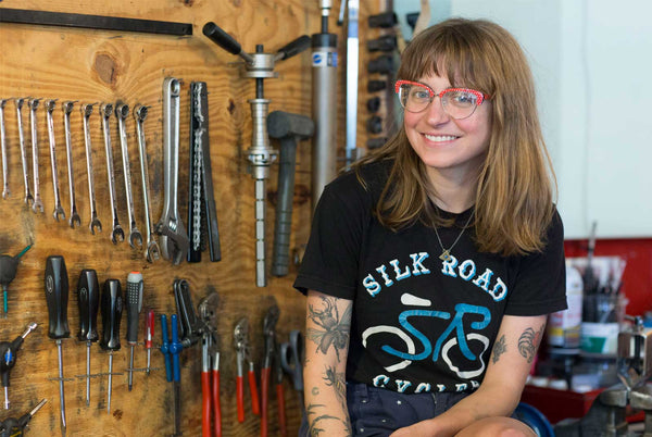 Marcy Cruthirds, Manager Silk Road Cycles