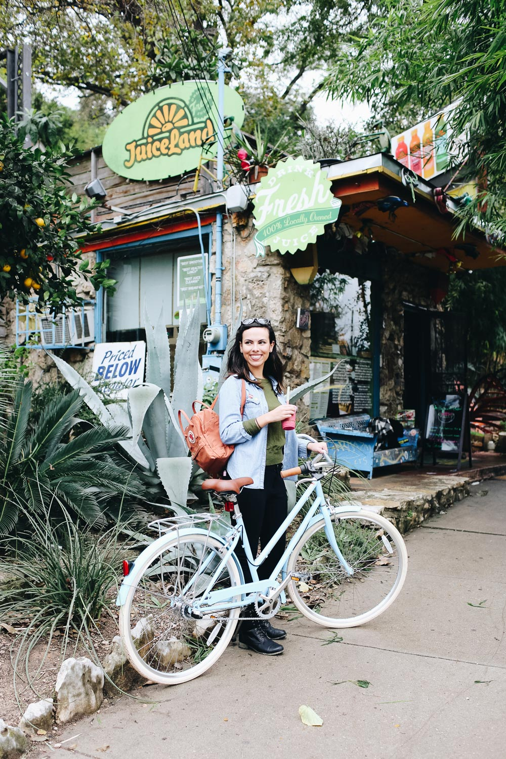 Juiceland Austin Bike Tour