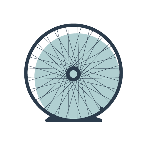 puncture resistant tires icon
